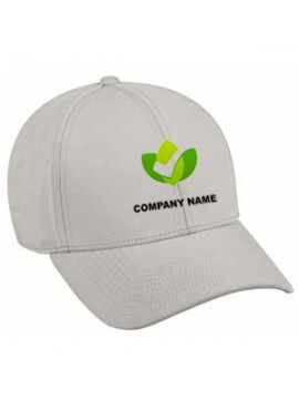 Customized Embroidered Golf Caps Grey