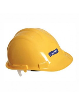 yellow color security helmet