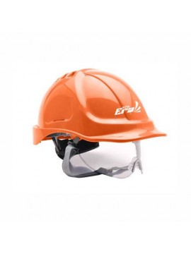 orange color security helmet