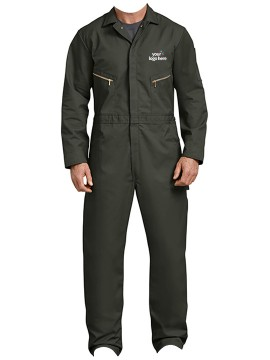 Blended Long Sleeve Coveralls