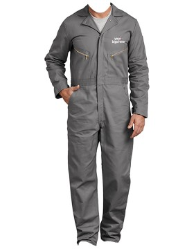 Cotton Long Sleeve Coveralls