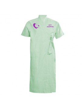 Front Opening Hospital Gown