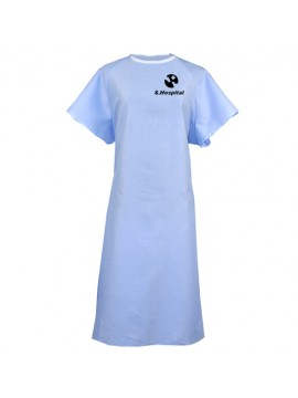Solid Color Patient Gown