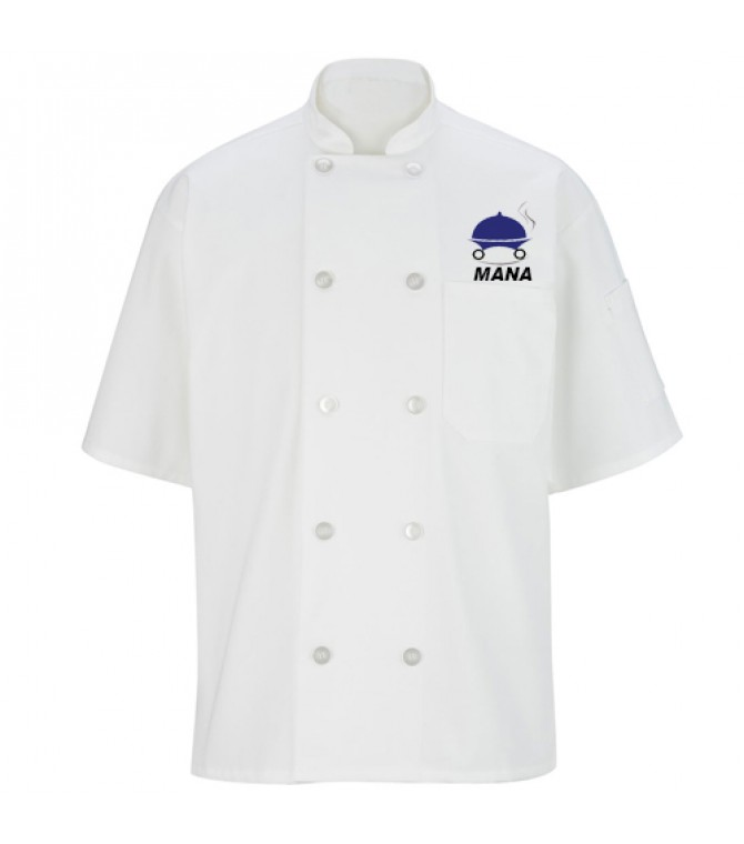 Professional Embroidered Chef Coat