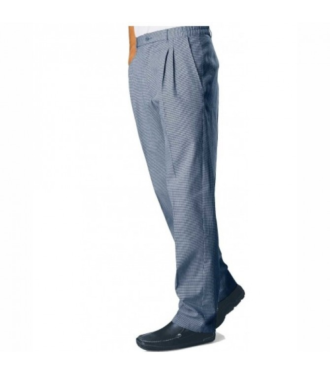 custom silver color chef trouser