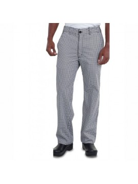 Black White Custom Chef Trouser