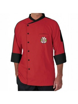 Classic Red Chef Coat