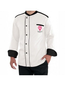 custom white chef coat