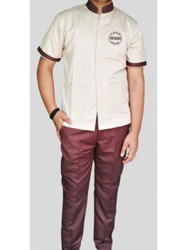 Housekeeping Uniform Brown