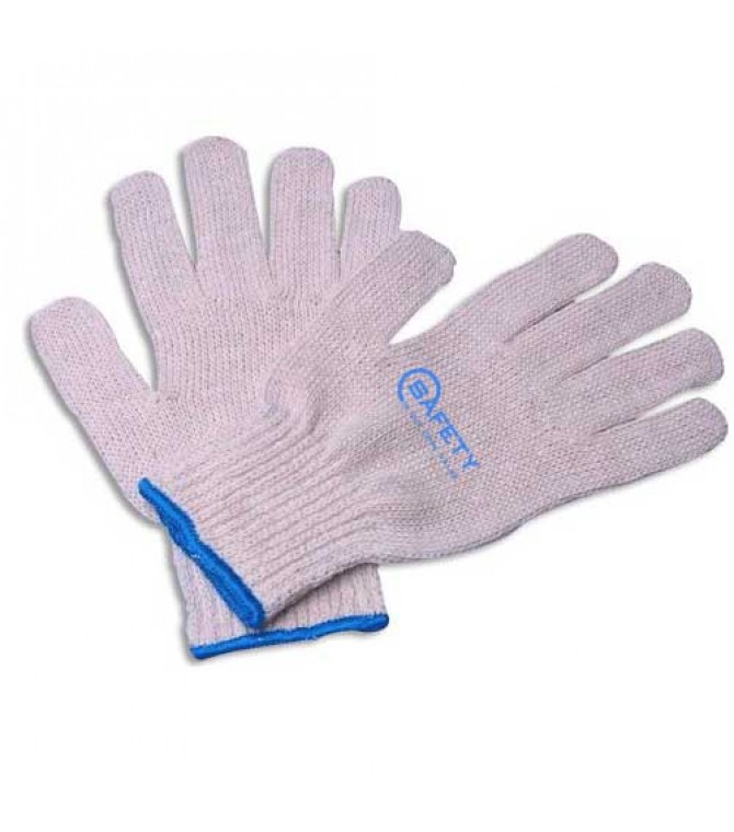 Cotton Knitted Safety Glove