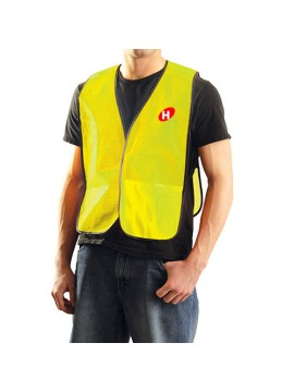 Mesh Safety Vest Golden Uniform