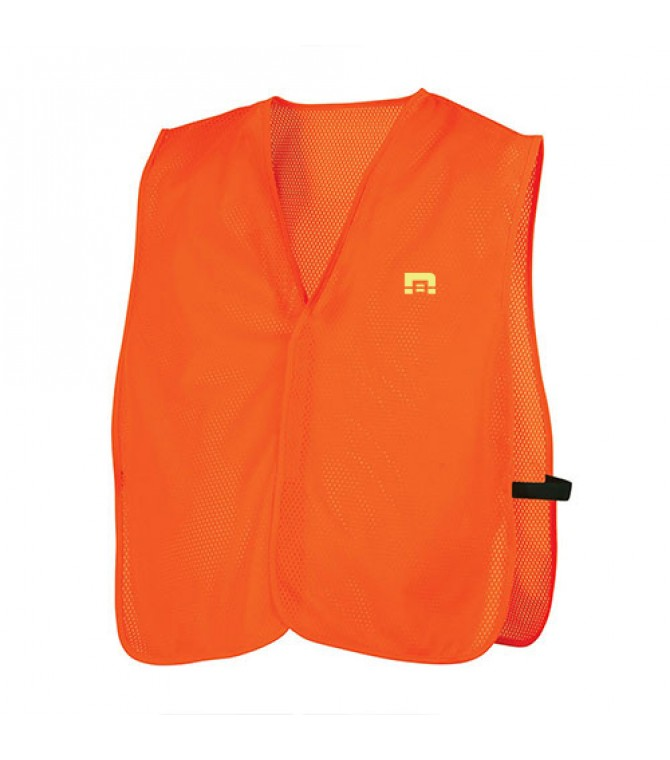 PLAIN ORANGE SAFETY VEST