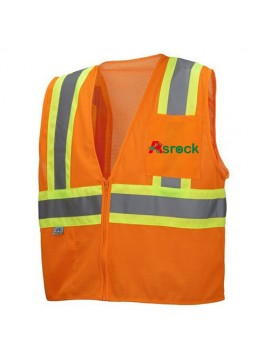 Mesh Deluxe Safety Vest uniform