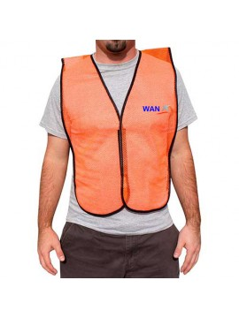 Mesh Safety Vest Orange