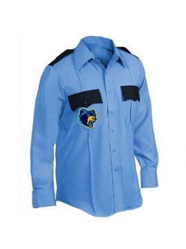Navy Blue Guard Uniform Shirt