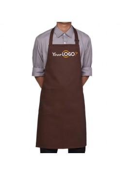 Unisex Adjustable Brown Apron