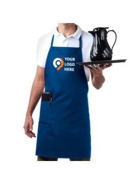 Unisex Adjustable Royal Blue Apron