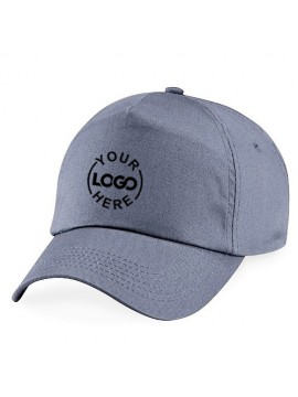 18474924132b2 Customized Printed Caps Gray