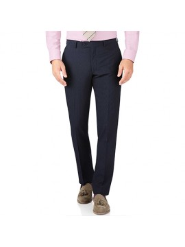 Corporate Trouser Navy Strip