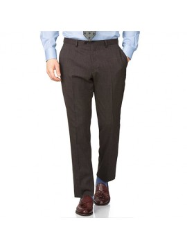 Corporate Trouser Brown Strip