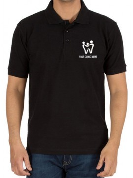 Embroidered Dentist T-Shirt Black