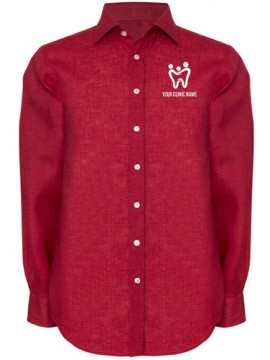 Dentist Shirt Executive Red