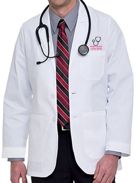 Executive Mens Lab Coat
