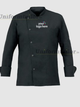 Personalized Chef Coat With Tich Button