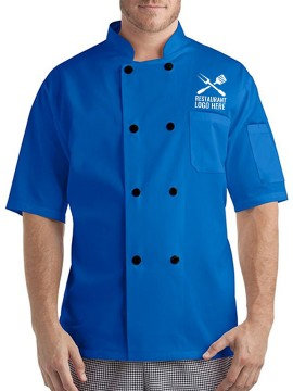 Basic Short Sleeves Chef Coat