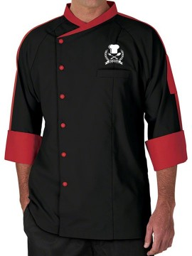 Classic Dual Color Chef Coat
