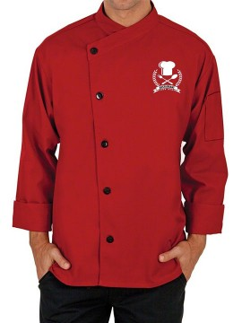 Designer Cross Collar Chef Coat