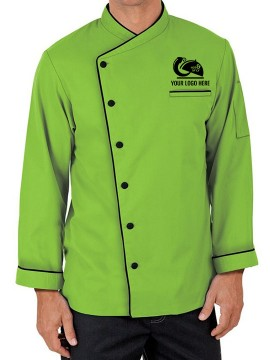Designer Folded Cuff Chef Coat