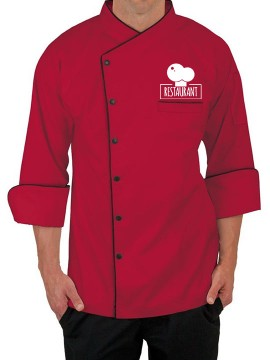 Personalized 3/4 Length Sleeve Chef Coats