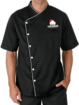 Designer Short Sleeve Chef Coat