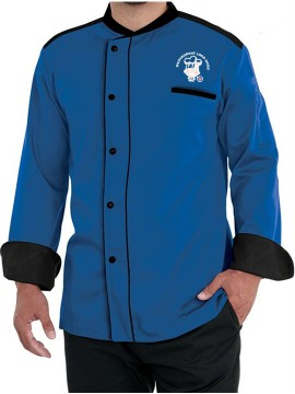 Two Tone Long Sleeves Chef Coats