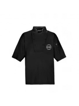 Printed Pullover Chef Shirt