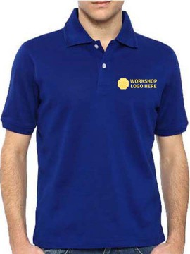 Customized Blended Polo Mechanic T-Shirts