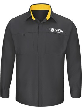 Automotive Mechanic Dual Color Full Sleeve Shirt