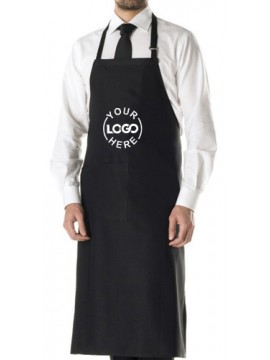 Unisex Black Adjustable Apron