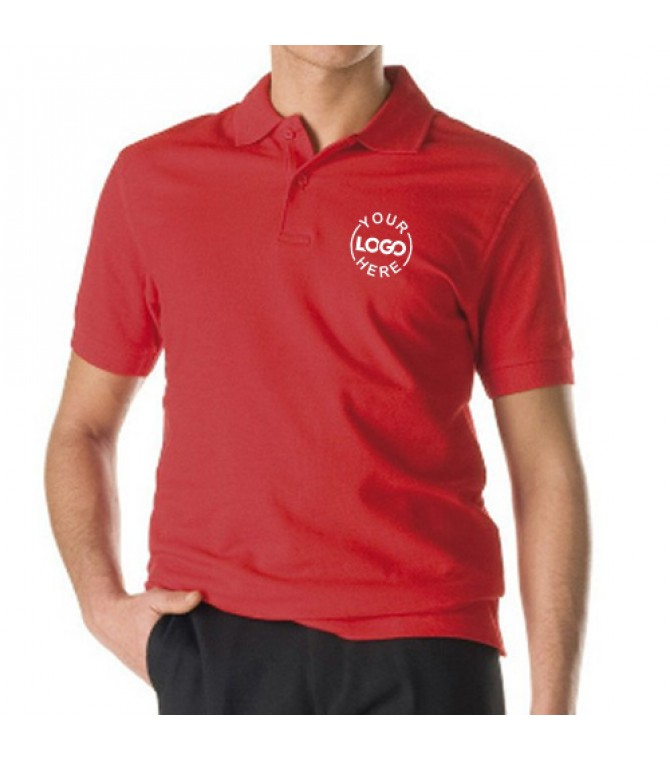 Unisex restaurant bar Polo Red