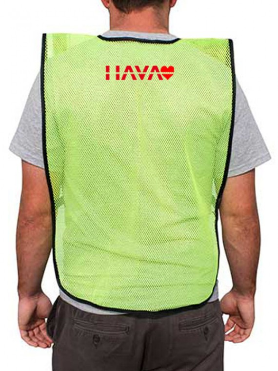Personalized Mesh Safety Vests