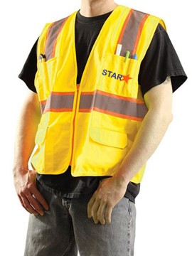 Customized Tone Two Safety Vest