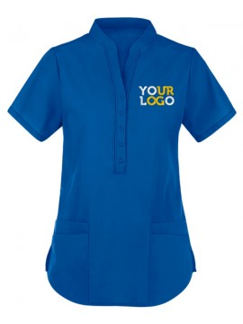 Collar Scrub Suit Royal Blue