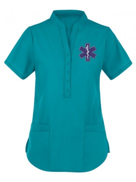 Collar Scrub Suit Green