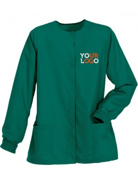 Ladies Jacket Scrub Suit Green