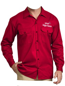 Personalized Full Sleeve Work Wear Shirts