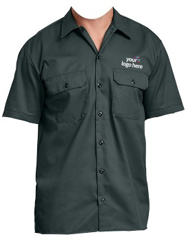Personalized Half Sleeve Work Wear Shirts
