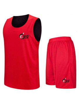 Basketball Uniforms Sets Red