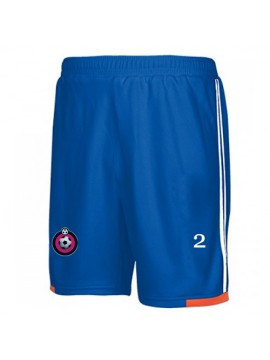 Blue football player shorts
