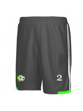 Black football team shorts